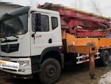 出售17年东风鑫达37米泵车