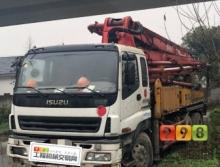 出售10年12月出厂三一五十铃37米泵车