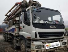 底价出售10年出厂中联五十铃52米泵车