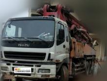 出售2009年三一五十铃40米泵车(内部9成新)