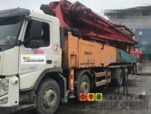 出售13年12月上牌三一沃尔沃52米泵车(准新车)