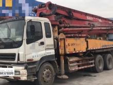 精品出售09年出厂三一五十铃37米泵车