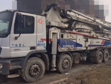 出售2012年中联奔驰49米泵车