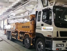 转让2015年楚天五十铃48米泵车(国四新车)