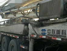 出售07年中联沃尔沃37米泵车