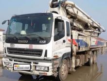 精品转让2013年年底中联五十铃底盘47米泵车(一手车源)