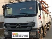 出售14年中联奔驰52米泵车