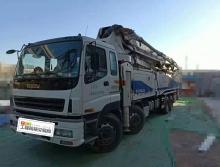 旷世珍品:车主直售12年出厂中联五十铃52米泵车