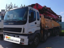 极品出售10年出厂三一五十铃50米叉腿泵车