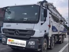 裸车转让2台2012年中联奔驰52米泵车