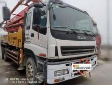 精品出售10年10月出厂三一五十铃37米泵车(大排量)