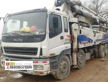 精品出售12年差10天中联五十铃48米泵车(六节臂)