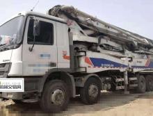 一口价出售2011年出厂中联奔驰52米泵车《六节臂.满管出料》