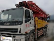 转让10年出厂三一五十铃46米泵车(大排量)