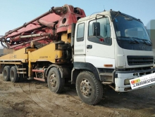 车主一口价精品出售08年三一五十铃45米泵车(大排量)