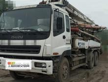 出售05年出厂中联五十铃37米泵车(可审车买保险)