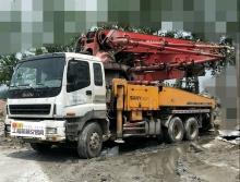 转让2008年8月三一五十铃43米泵车