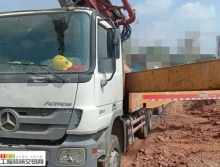 出售13年三一C8奔驰49米泵车