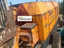 出售01年三一HBT60A----140拖泵