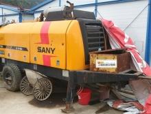 出售11年出厂三一HBT60C-1816拖泵