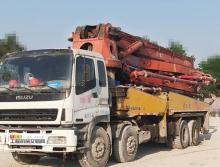 出售07年出廠三一五十鈴48米泵車