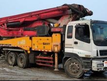 出售2010出廠三一五十鈴46米泵車(一手車)