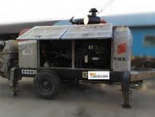 出售12年7月出厂天拓重工HBT80.16.176RS拖泵