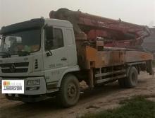 出售18年東風鑫達5節臂37米泵車