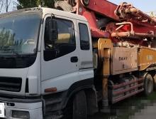 出售2011年出廠三一五十鈴40米泵車(一手車,未轉過手)
