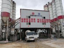 精品轉讓2016年出廠南通通盟重工雙線120攪拌站