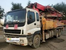 裸車出售10年出廠三一五十鈴40米泵車