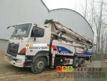 出售12年中联日野47米泵车