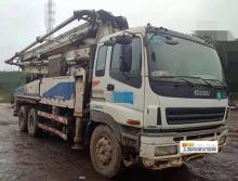 车主直售11年12月中联五十铃38米泵车(5节臂)
