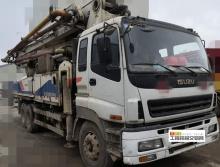 车主直售10年7月中联五十铃47米泵车