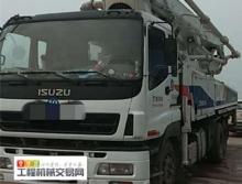 终端精品出售10年中联五十铃47米泵车