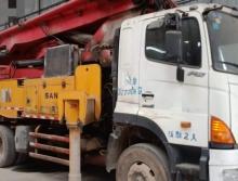 极品一手车出售2011年出厂三一日野46米泵车(三桥叉腿)