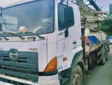 方量极少一手车出售2011年出厂中联日野37米泵车(五节臂)