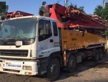 4萬方極品裸車出售2011年出廠三一五十鈴50米泵車