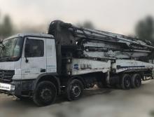 出售08年6月中联奔驰49米泵车