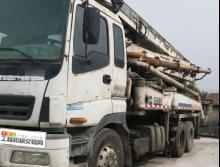 车主精品转让08年中联五十铃37米泵车(国三绿标)