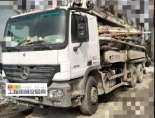 出售07年出厂中联奔驰37米泵车(绿标)