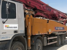 出售14年徐工奔驰56米泵车