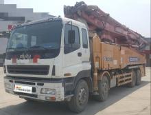 出售2012年出厂徐工五十铃52米泵车(六节臂)