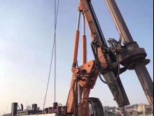 转让中联2013年280c旋挖钻机