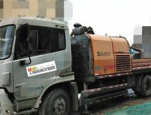 车主个人车转让11年出厂三一9018车载泵
