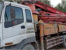 精品轉讓2010年出廠三一五十鈴底盤37米泵車