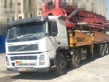 出售09年三一沃爾沃56米泵車