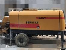 急售17年7月出厂三一P816电砂浆泵