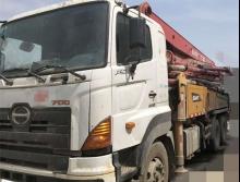 原北方极品转让11年出厂三一日野37米E系列泵车(大排量可分期)