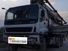 裸车出售2011年使用中联五十铃47米泵车
